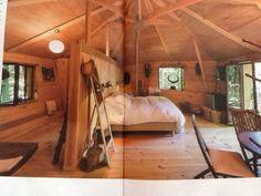 Boomhut-slaapkamer