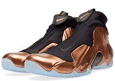 Nike Air Flightposite I 2014 Premium Copper Closer Look | Sole Collector