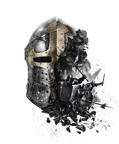 For Honor concept art faction ironlegion helmet