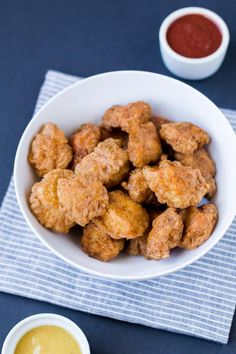"""Russ Crandall of """"The Domestic Man"""" blog,reveals the secret to light and crunchy chicken nuggets that just happen to be paleo and gluten-free."""