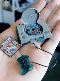 The littlest Playstation.  They just keep making these things smaller and smaller. Plus, Parappa the Rapper.