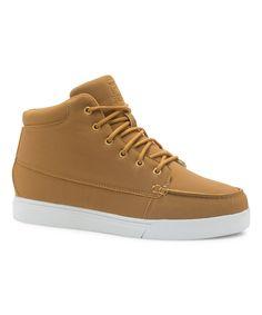 43db1ed26eea FILA Wheat   White Montano Hi-Top Sneaker
