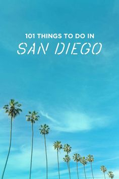 The Ultimate San Diego Bucket List - 101 Things to Do in San Diego // localadventurer.com
