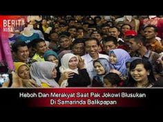 Heboh Dan Merakyat Saat Pak Jokowi Blusukan Di Samarinda Balikpapan   Be...
