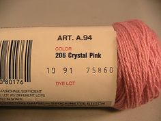 Ravelry: juliew8's Red Heart LusterSheen Solid  Crystal pink