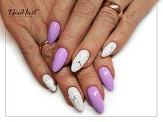 Efekt marmuru na paznokciach hybrydowych / NeoNail