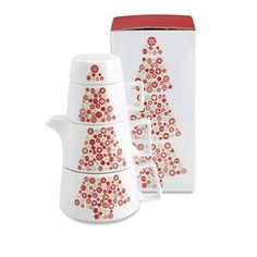 Toretta - X-mas themed ceramic tea set | KLIK4 Reklamni proizvodi