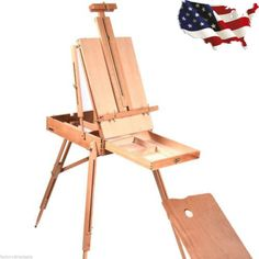 New French Easel Wooden Sketch Box Portable Folding Art Artist Painters Tripod - http://crafts.goshoppins.com/art-supplies/new-french-easel-wooden-sketch-box-portable-folding-art-artist-painters-tripod/