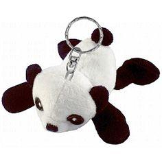 Panda Plush Keychain Stuffed Animal by Puzzled