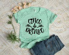 2c65fbd6 Cinco De Drinko Shirt, Ladies MayDay Drinking Tee, Party Shirt, Drinking  Shirt, Vacation Tee, Cinco De Mayo Shirts, Fiesta Party Tshirts