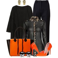 Neon for Fall, created by martina-hel on Polyvore