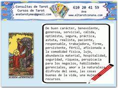 Los Menores del Tarot: REINA DE OROS Tarot Significado, Tarot Gratis, Wicca, Witches, Spirituality, Amor, Tarot Decks, Tarot Cards, Tarot Spreads