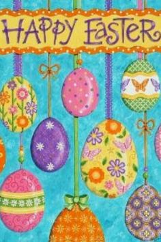 Happy Easter garden flag x Easter Wallpaper, Holiday Wallpaper, 5 April, Easter Garden, Easter Egg Designs, Easter Ideas, Coloring Easter Eggs, Easter Holidays, Rabbits