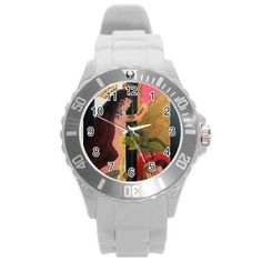 All appleartcom's products are from the original paintings of the artist/designer Jocelyn Apple. Kindly see: (www.facebook.com/appleartcom)    (www.cowcow.com/appleartcom). On Heaven's UNISEX Door Plastic Sport Watch (Large) by Jocelyn Apple/Appleartcom Round Plastic Sport Watch (L).