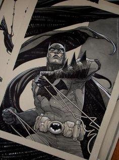 Batman by Roger Cruz. by patrica