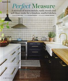 Rediscovering an old favorite kitchen (with sources!) @HouseandHome