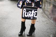 Moda en la calle en la Semana de la Moda de París febrero-marzo 2014 © Josefina Andrés