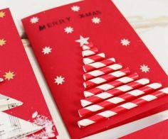 Mickey Christmas, Diy Christmas Cards, Homemade Christmas, Christmas Time, Christmas Crafts, Merry Xmas, Diy Cards, Greeting Cards, Presents