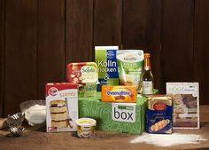 Süße Produkte zum Backen versteckten sich in unserer Back Box. Also ran an die Rührschüssel und Ofen schon mal vorheizen!