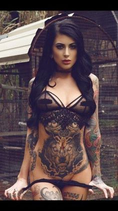 Beautiful inked girl