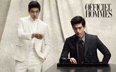 Sung Joon for L'Officiel Hommes August`15