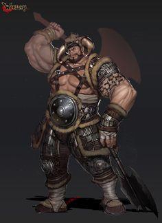 ArtStation - kurrun warrior, sonacia - Youngmin suh