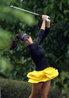 Women's Clothing With Cute Golf Applique Ruffle golf skorts