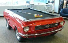 EcoNotas.com: Mesa de Billar con Auto Reciclado, Ideas de ...