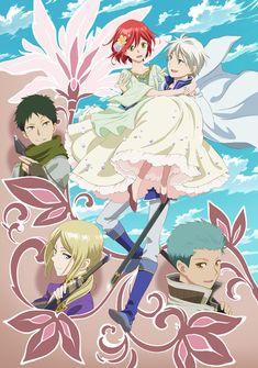 Snow White with the Red Hair (Akagami no Shirayuki-hime) Second Season 2 TV anime key visual.
