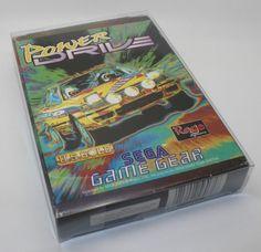 POWER DRIVE   SEGA GAME GEAR FULL RARE!