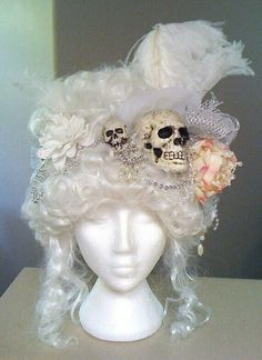 Skully hair accessory