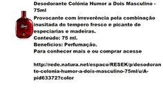 Rede Natura Espaco Resek: Desodorante Colônia Humor a Dois Masculino - 75ml