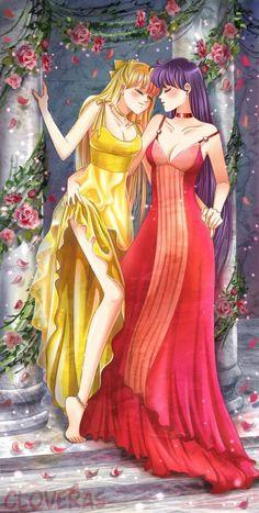 Princess Venus and Princess Mars