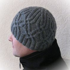 Men's Ski Hat pattern by Irina Dmitrieva - For Guy
