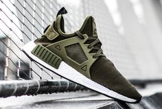 Closer Look at the adidas NMD 'Olive' Boat Shoes, Men's Shoes, Shoe Boots, Kicks Shoes, Adidas Shoes, Air Jordan, Reebok, Nba, Sneaker Games