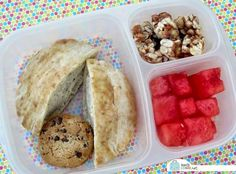 Quick and easy lunch box idea| packed in @EasyLunchboxes