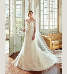 Mariage de mode 2017 - Collection NICOLE.  NIAB17070. Robe de mariée Nicole.