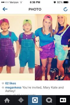 Mary Kate And Ashley Costume