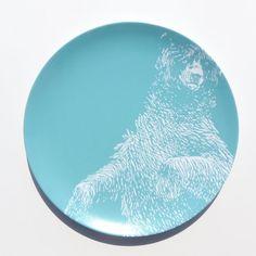 Vintage Bear 10  Melamine Plate  sc 1 st  Pinterest & Modern Wood Simple Chevron 10