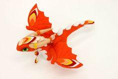 Soft toy dragon fantasy plush animal textile от UniversesSwirls