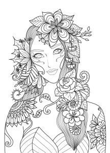 Total relaxation with these complex Zen and anti-stress Coloring pages for adults. Inspired by nature or completely surreal, these drawings differ from mandalas because they are not concentrated on a single point. Tree Coloring Page, Butterfly Coloring Page, Fall Coloring Pages, Free Adult Coloring Pages, Coloring Pages For Girls, Free Coloring, Coloring Books, Coloring Sheets, Mermaid Coloring Pages