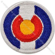 Army Patch: Colorado National Guard - color