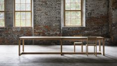 John Pawson has designed the Frame table for Nikari based on a dining table originally created for his own family farmhouse.