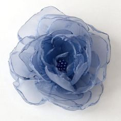 #wedding #periwinkle hair flower