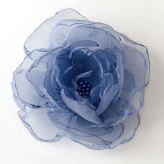 #wedding #periwinkle hair flower