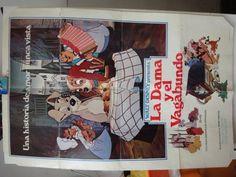 Original Spanish Movie Poster La Dama Y El Vagabundo The Lady And The Tramp Walt Disney @ niftywarehouse.com #NiftyWarehouse #Disney #DisneyMovies #Animated #Film #DisneyFilms #DisneyCartoons #Kids #Cartoons