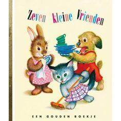 Boekje zeven kleine vrienden I love speelgoed