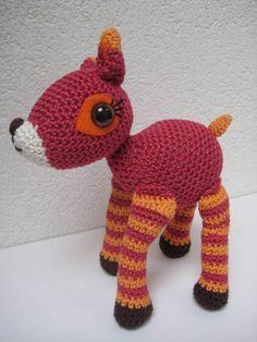 Bambi, gehaakte bambi, bambi, speelgoed, knuffel van Ollebol & Muis op DaWanda.com