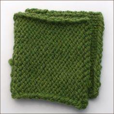 How to crochet slip stitch.