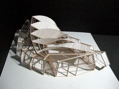 Great Ferry Terminal Final Model By M Yun Architecture Design Studio 2 Final 1/